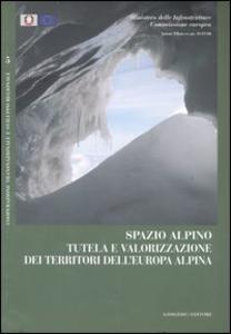 Libro Spazio alpino. Tutela e valorizzazione dei territori dell'Europa alpina