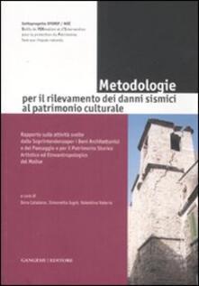 Ristorantezintonio.it Metodologie per il rilevamento dei danni sismici al patrimonio culturale Image