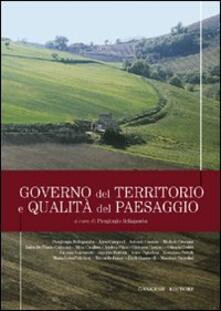 Governo del territorio e qualità del paesaggio - Piergiorgio Bellagamba - copertina
