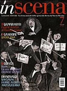 In scena. La rivista dello spettacolo (2006). Vol. 7 - copertina