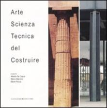 Arte, scienza, tecnica del costruire - copertina