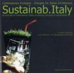 Foto Cover di Sustainab Italy. Contemporary ecologies, energies for italian architecture, Libro di  edito da Gangemi