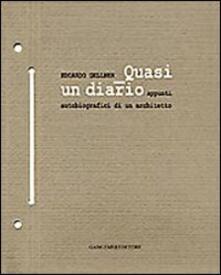 Edoardo Gellner. Quasi un diario, appunti autobiografici di un architetto - Michele Merlo - copertina