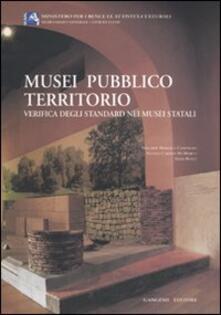 Musei pubblico territorio. Verifica degli standard nei musei italiani - copertina