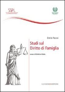 Libro Studi sul diritto di famiglia. Corso di diritto civile Ennio Russo