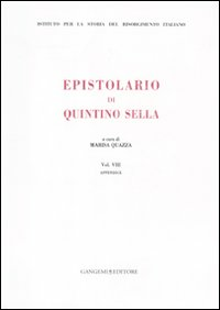 Image of Epistolario. Vol. 8: Appendice.