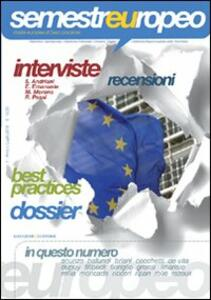 Semestre europeo (2010). Vol. 1