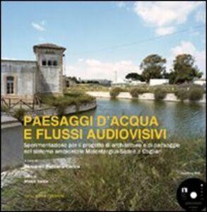Libro Paesaggi d'acqua e flussi audiovisivi. Sperimentazione per il progetto di architettura e di paesaggio nel sistema ambientale Molentargius-Saline a Cagliari. Con DVD Giovanni Battista Cocco