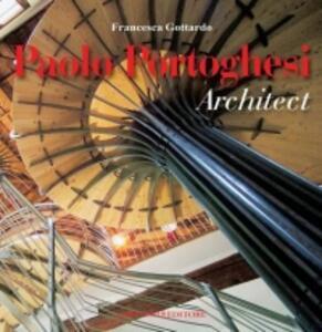 Paolo Portoghesi architect - copertina