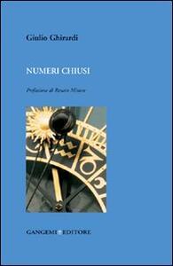 Numeri chiusi - Giulio Ghirardi - copertina
