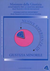 Nuove esperienze di giustizia minorile (2010). Vol. 2 - copertina