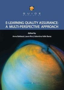E-learning quality assurance. A multi perspective approach - copertina