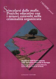 Camfeed.it Svincolarsi dalle mafie. Pratiche educative con i minori coinvolti nella criminalità organizzata Image