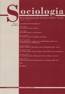 Sociologia. Rivista quadrimestrale di scienze storiche e sociali (2011). Vol. 1