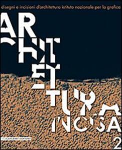 Architettura incisa. Vol. 2 - copertina