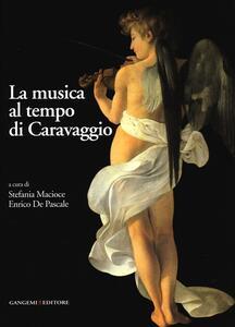 La musica al tempo di Caravaggio - copertina