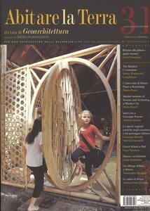 Abitare la terra. Ediz. italiana e inglese. Vol. 31 - copertina
