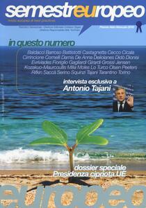 Semestre europeo (2012). Vol. 1 - copertina