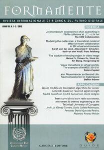 Foto Cover di Formamente. Rivista internazionale sul futuro digitale (2012). Ediz. italiana e inglese vol. 1-2, Libro di  edito da Gangemi