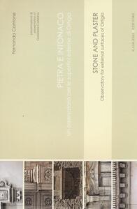 Pietra e intonaco. Un osservatorio per le superfici estrene di Ortigia. Ediz. italiana e inglese - Fernanda Cantone - copertina