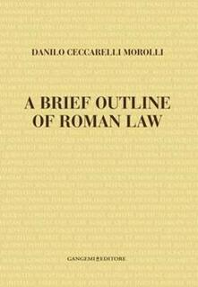Associazionelabirinto.it Brief outline of roman law (A) Image