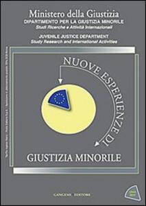 Nuove esperienze di giustizia minorile. Unico 2011. Vol. 3 - copertina