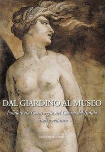 Foto Cover di Dal giardino al museo. Polidoro da Caravaggio nel Casino del Bufalo. Studi e restauro, Libro di  edito da Gangemi