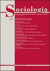 Sociologia. Rivista quadrimestrale di scienze storiche e sociali (2013). Vol. 2