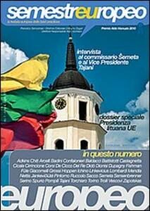 Semestre europeo (2013). Vol. 1 - copertina