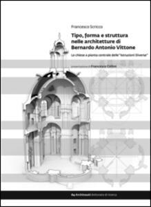 Tipo, forma e struttura nelle architetture di Bernardo Antonio Vittone. Le chiese a pianta centrale delle «Istruzioni Diverse» - Francesco Scricco - copertina
