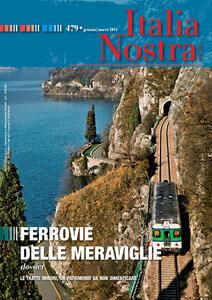 Italia nostra (2014). Vol. 479: Ferrovie delle meraviglie. - copertina