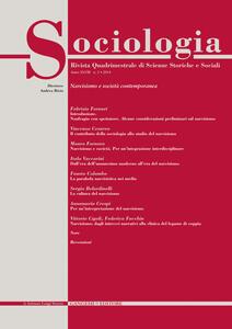 Sociologia. Rivista quadrimestrale di scienze storiche e sociali (2014). Vol. 2
