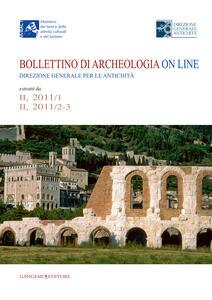 Bollettino di archeologia on line. Direzione generale per le antichità. Estratti da II, 2011/1 - II, 2011/2-3 - Jeanette Papadopoulos - copertina