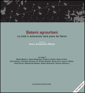Sistemi agrourbani. La città in estensione nella piana del Sarno. Ediz. italiana e inglese - copertina