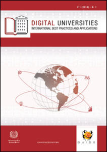 Digital universities. International best practices and applications (2014). Vol. 1 - copertina