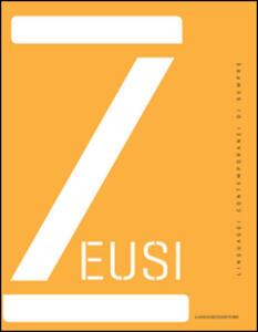 Zeusi. Linguaggi contemporanei di sempre vol. 0 - copertina