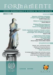 Formamente. Rivista internazionale sul futuro digitale (2014). Ediz. italiana e inglese vol. 3-4 - copertina