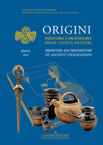 Origini. Preistoria e protostoria delle civiltà antiche-Prehistory and protohistory of ancient civilization. Ediz. bilingue. Vol. 36 - copertina