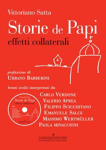 Storie de papi. Effetti collaterali. Con DVD - Vittoriano Satta - copertina