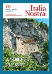 Italia nostra (2015). Vol. 484: Le architetture dello spirito.