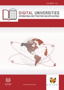 Digital universities. International best practices and applications (2015). Vol. 1 - copertina