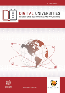 Libro Digital universities. International best practices and applications (2015). Vol. 1