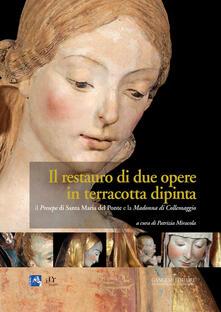 Il presepe di Santa Maria del Ponte e la Madonna di Collemaggio. Il restauro di due opere in terracotta dipinta