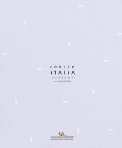 Codice Italia Academy - copertina