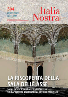 Listadelpopolo.it Italia Nostra (2019). Vol. 504: riscoperta della Sala delle Asse, La. Image