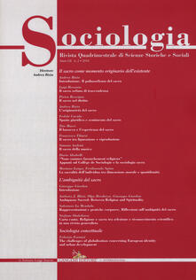 Sociologia. Rivista quadrimestrale di scienze storiche e sociali (2018). Vol. 2.pdf