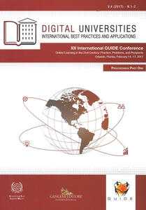 Digital universities. International best practices and applications  (2017). Vol. 1-2 - copertina