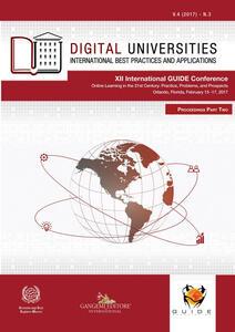 Digital universities. International best practices and applications  (2017). Vol. 3 - copertina