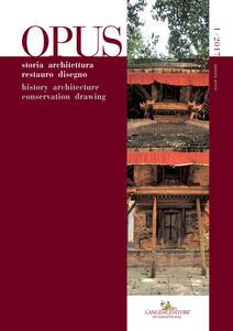 Opus. Quaderno di storia architettura restauro disegno-Opus. History architecture conservation drawing (2017). Vol. 1 - copertina