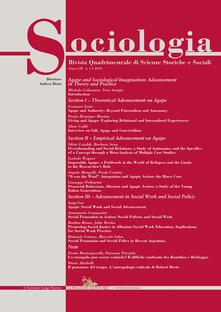 Capturtokyoedition.it Sociologia. Rivista quadrimestrale di scienze storiche e sociali (2019). Vol. 1 Image